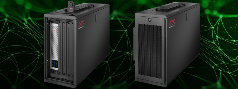 APC by Schneider Electric zavesilo serverové a sieťové zariadenia inovatívne a štýlovo